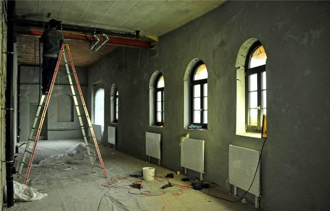 Das über einen separaten Zugang erreichbare Untergeschoss, wo ein Memberclub entsteht, wird vermietet.