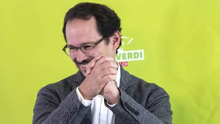 Balthasar Glättli tritt die Nachfolge von Regula Rytz als Parteipräsident der Grünen an.