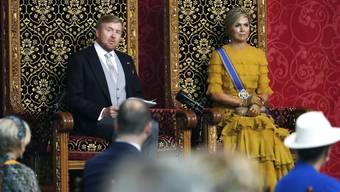 König Willem-Alexander und Königin Maxima: Die Krise kann ihnen nichts anhaben.
