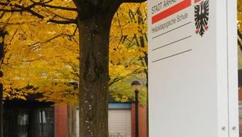 HPS und Zeka teilen sich in Aarau ein Gebäude. Auch beim Raumkonzept besteht nach Ansicht von Schulpflege und Stadtrat Handlungsbedarf.  toni widmer