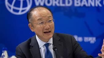 Schwere Vorwürfe: Weltbank-Präsident Jim Yong Kim wird Führungsschwäche vorgeworfen. (Archivbild)