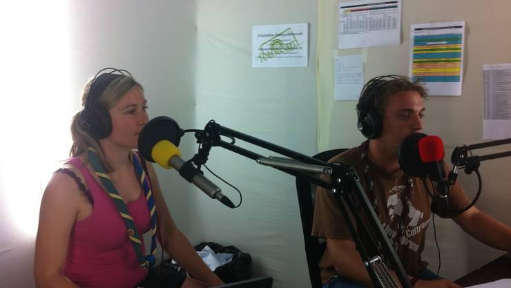 Papillon / Evi Morath und Schlompf / Benedikt Merz im Radiostudio 2 bei fanfare.fm.