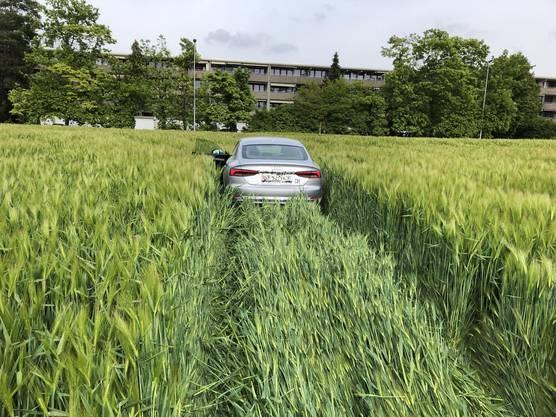 Arisdorf BL/Rheinfelden AG, 18. Mai: Auf der Autobahn A2 kam es zu einer Verfolgungsfahrt. Der Flüchtende war alkoholisiert und landete schliesslich in einem Gerstenfeld.