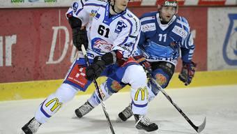 Spielte von 2007 bis 2011 während vier NLA-Saisons für die ZSC Lions: Alexej Krutow (Archivbild)