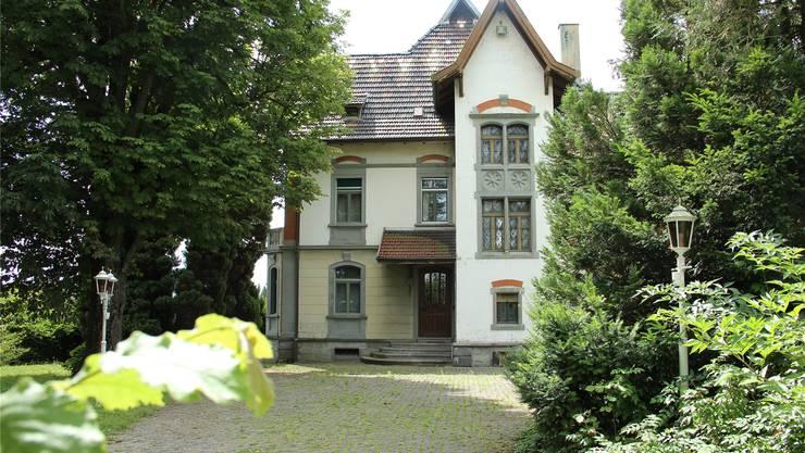 Für die Dreifuss-Villa im Farnbühl wurde ein Abbruchgesuch gestellt. AW