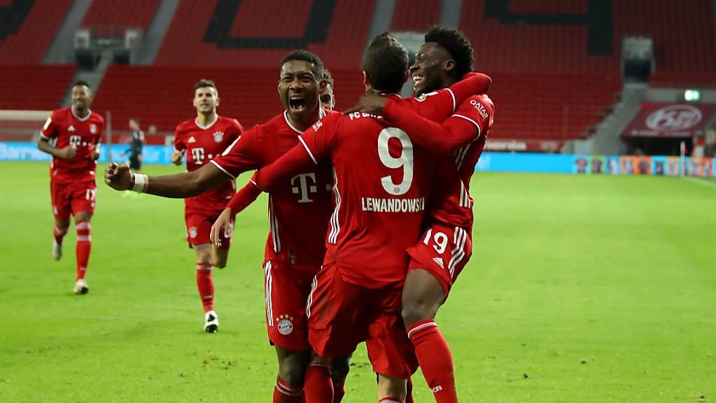 Und immer wieder die Bayern: Robert Lewandowski schiesst die Münchner zur Tabellenführung.