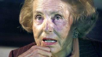 Milliardärin Liliane Bettencourt hat sich mit ihrer Tochter darauf geeinigt, den Streit zu beenden (Archiv)