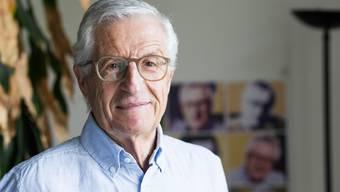 Rolf Lyssy, Schweizer Filmregisseur, erhält vom Zürich Filmfestival den Career Achievement Award verliehen.