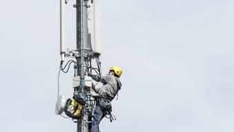 Swisscom und Salt stossen mit der geplanten Mobilfunkantenne in Schlossrued auf Widerstand. (Symbolbild)