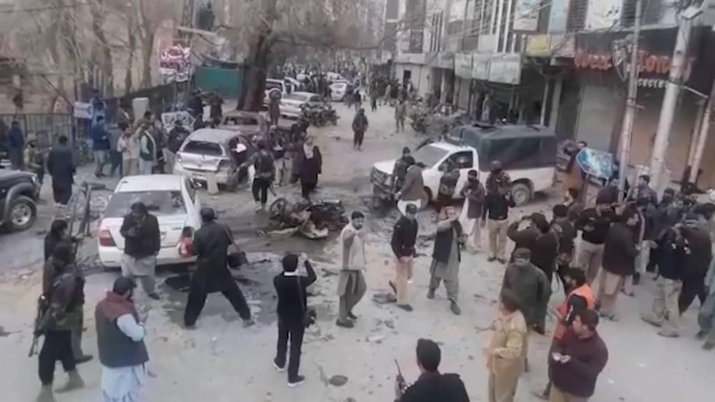 Pakistan: Mindestens sieben Tote bei Selbstmordanschlag