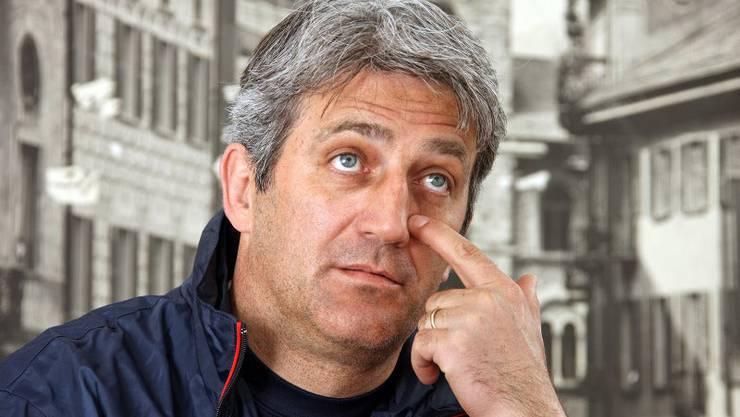 Vladimir Petkovic 2008: Damals noch Trainer in Bellinzona.