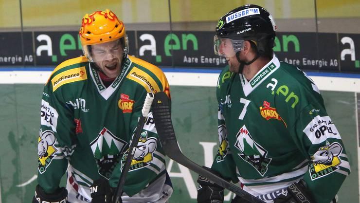 Oltens Topskorer Marco Truttmann könnte schon bald für Lugano stürmen.