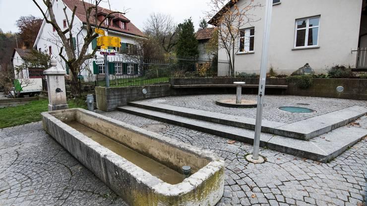In Titterten ist nach einem Felssturz die Wasserversorgung kaputt gegangen