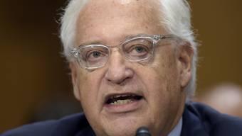 Vertritt fortan die Interessen der USA in Israel: Botschafter David Friedman. (Archivbild)