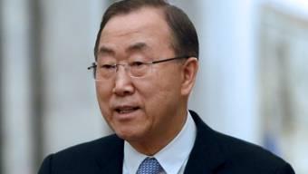 Ban Ki Moon, UN-Generalsekretär.