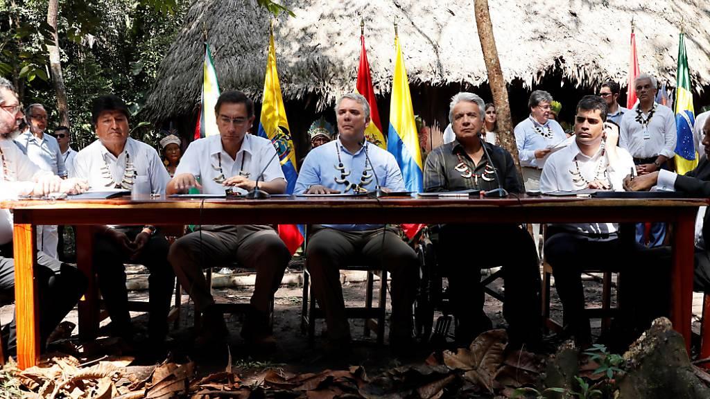 Amazonas-Länder wollen «Überleben unseres Planeten» sichern