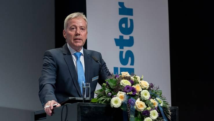 Präsident baumeister verband aargau