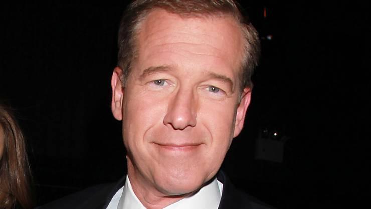 Der US-Nachrichtenmoderator Brian Williams, der wegen Lügen den Job wechseln musste.