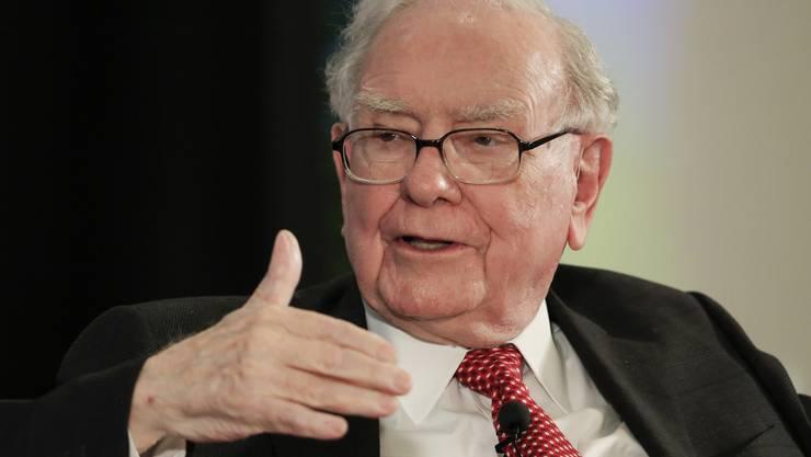 An der Spitze der Beteiligungsgesellschaft des 87-jährigen US-Investors Warren Buffett stellt sich die Frage der Nachfolge. (Archiv)