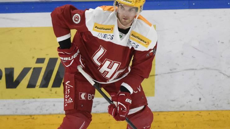 Mit Handgelenkverletzung out: Lausannes kanadischer Stürmer Dustin Jeffrey wird dieses Jahr keine Spiele mehr bestreiten