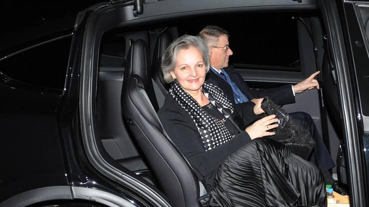 Renata Siegrist bekam bei ihrer Wahl zur Aargauer Grossratspräsidentin weniger Stimmen als üblich.