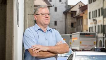 Mellingens Ammann Bruno Gretener (FDP) blickt einer verkehrsberuhigten Altstadt entgegen.
