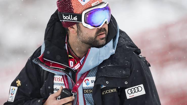 Matteo Joris ist seit fast vier Jahren für die Slalom-Gruppe von Swiss-Ski verantwortlich