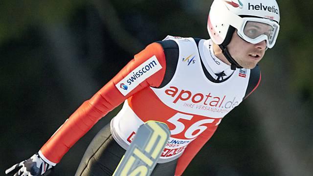 Simon Ammanns Comeback in den Weltcup misslang