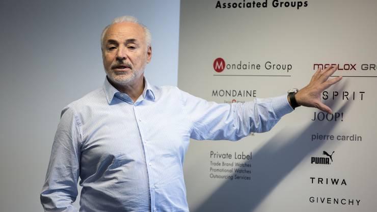 Ronnie Bernheim, Marlox AG: «Durch die Aufgabe der Lizenzmarken wird es im Verlaufe des Jahres zu Kündigungen kommen.»