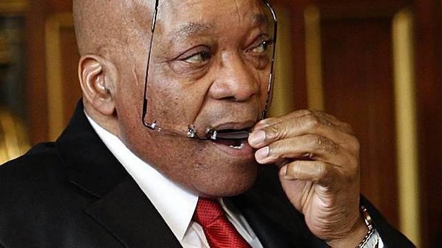 Südafrikas Präsident Jacob Zuma (Archiv)