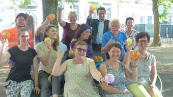 Die Organisatoren des Jugendfests freuen sich auf den bevorstehenden Anlass in Rheinfelden.