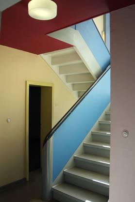 Farben prägen das Innere der Meisterhäuser in Dessau. Paul Klee setzte auf arme Töne.  Bild: Alamy