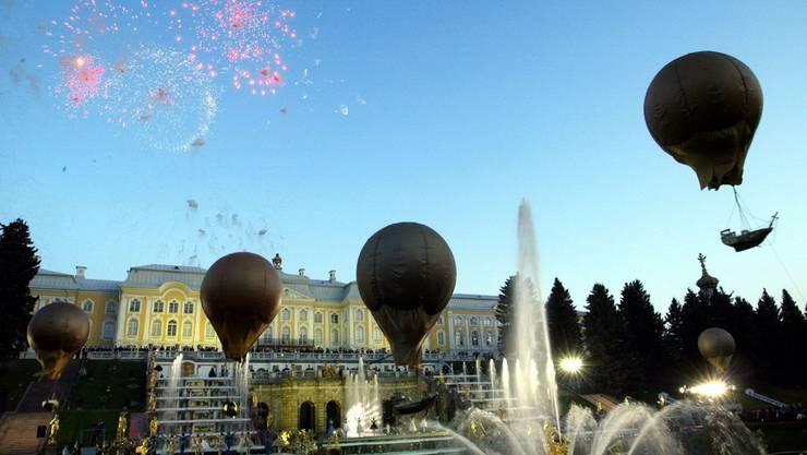 St. Petersburg bei der Feier zum 300-Jahre-Jubiläum der Stadt 2003.