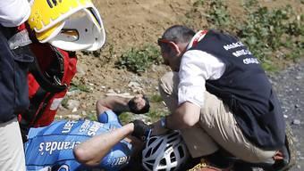 Starb später im Spital: der 23-jährige belgische Radprofi Michael Goolaerts.