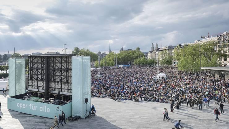Diesen Sommer auf dem Sechseläuten-Platz: Oper für alle