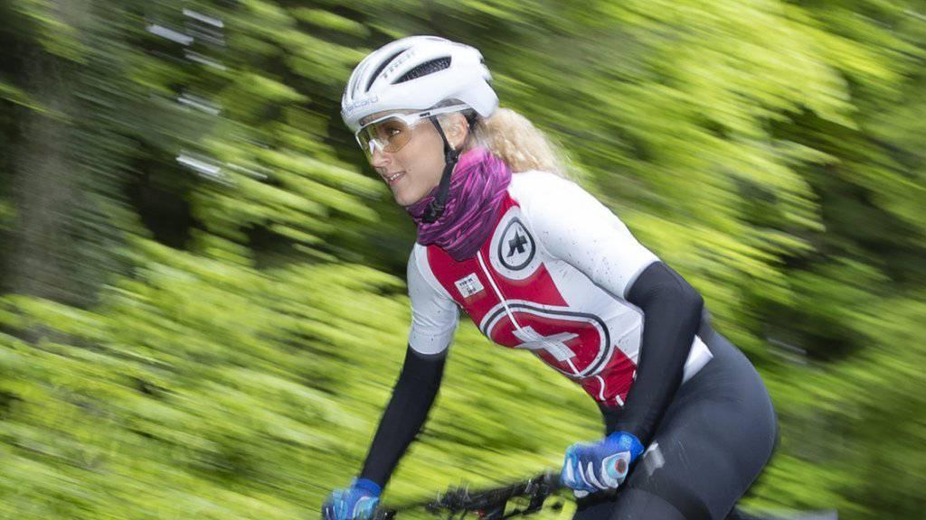 In Andorra erstmals im Short Track zuoberst: Mountainbikerin Jolanda Neff