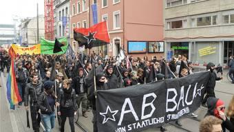 Der Schwarze Block will beim 1. Mai nicht mehr länger «unter ferner» sondern an der Spitze laufen.
