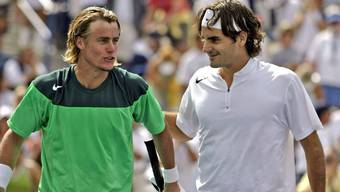 Lang ist's her: 2005 besiegte Roger Federer Lleyton Hewitt in Indian Wells.