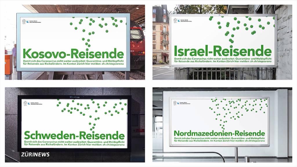 Zürcher Quarantäne-Kampagne erntet Rassismus-Vorwürfe