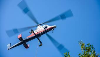 Der Lärm der Helikopter störte die Kläger am meisten. (Symbolbild)