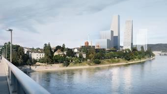 Roche: Südareal und neue Hochhäuser