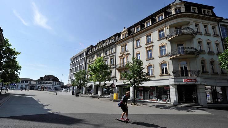 Hauptbahnhofstrasse 8–10 in Solothurn: Ab kommenden Herbst der neue Standort der Volkshochschule.