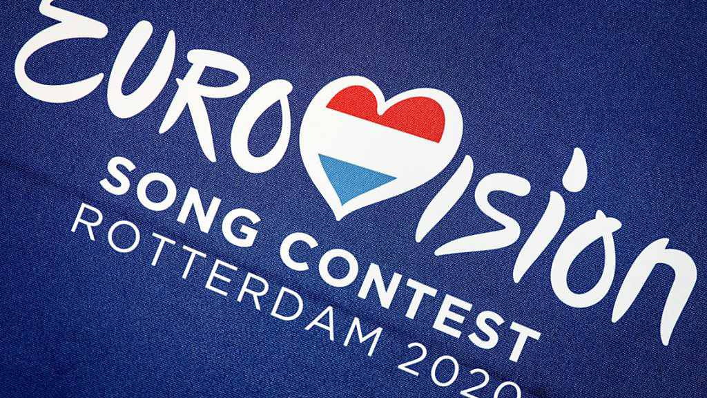ARCHIV - Logo des Eurovision Song Contest 2020. Am ESC im Jahr 2021 in Rotterdam werden 41 Länder teilnehmen. Das teilte die Europäische Rundfunkunion EBU am 26.10.2020 in Genf mit. Der Wettbewerb musste in diesem Jahr wegen der Corona-Pandemie ausfallen und wird nun im Mai 2021 stattfinden. Foto: Koen Van Weel/ANP/dpa - ACHTUNG: Nur zur redaktionellen Verwendung im Zusammenhang mit einer Berichterstattung den ESC