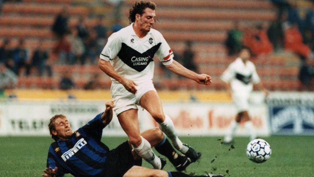 Vor 25 Jahren warf der FC Lugano Inter Mailand aus dem UEFA-Cup