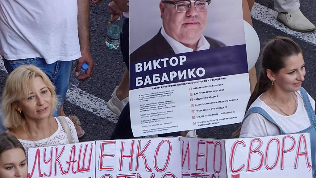 Populärer Oppositioneller vor Gericht
