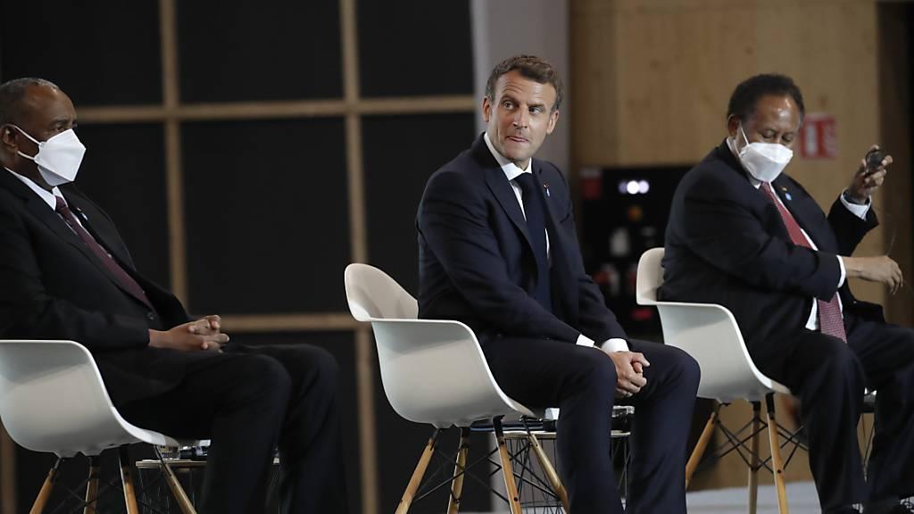 Macron würdigt Revolution im Sudan und verspricht Unterstützung