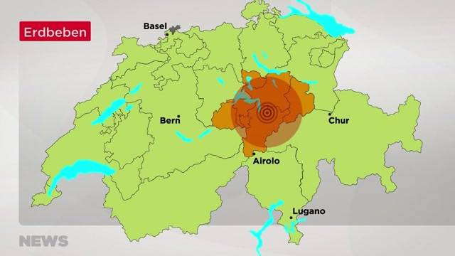 Auch in der Region Bern bebte die Erde