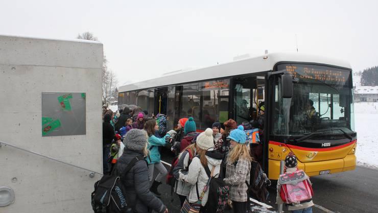 Vom 18. Mai bis 3. Juli wurden zusätzliche Busse für den Schülertransport eingesetzt. (Archivbild)