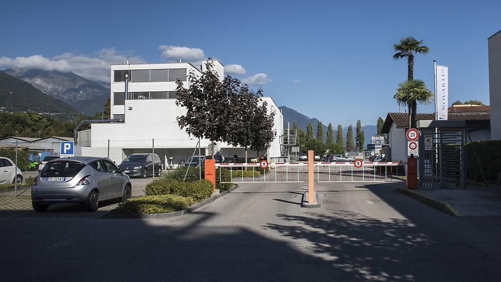 Die geplante Schliessung des Standorts in Locarno begründet Novartis mit einem Nachfrage-Rückgang nach Prüfkapazitäten. (Archivbild)