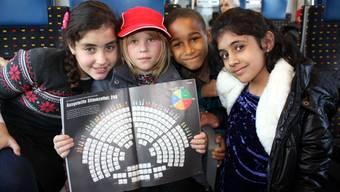 So besuchen Primarschüler das Machtzentrum der Schweiz